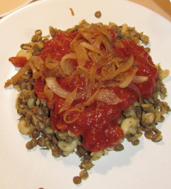 Koshari, national dish of Egypt